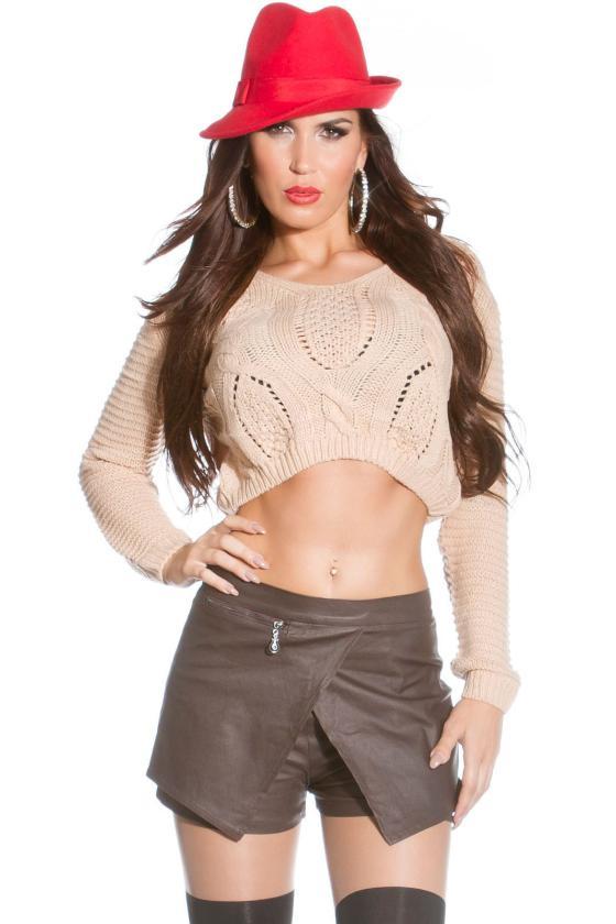 Juodos spalvos beretė su tiulio detalėmis_151924