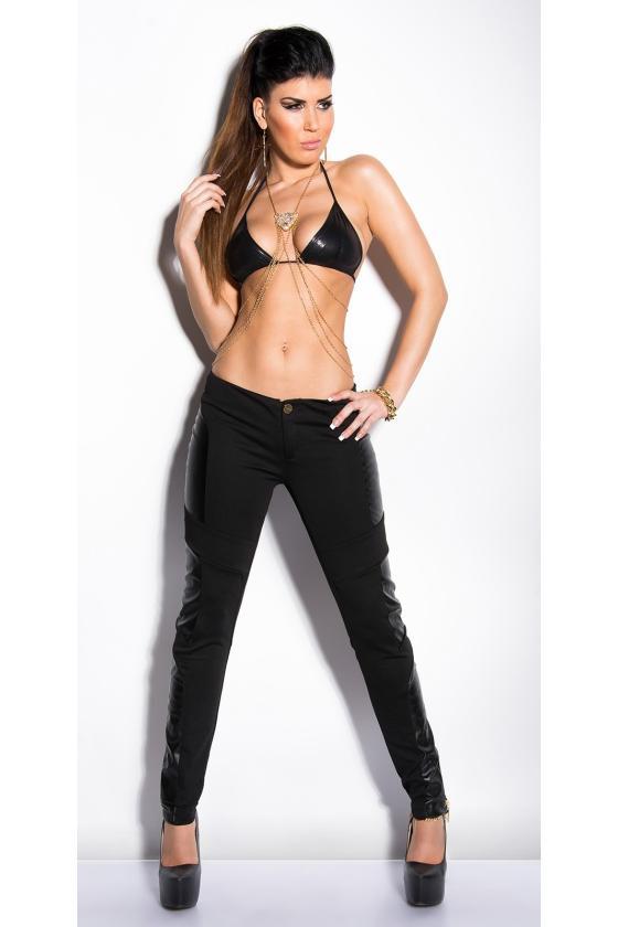Juodos spalvos eko kailio kepurė