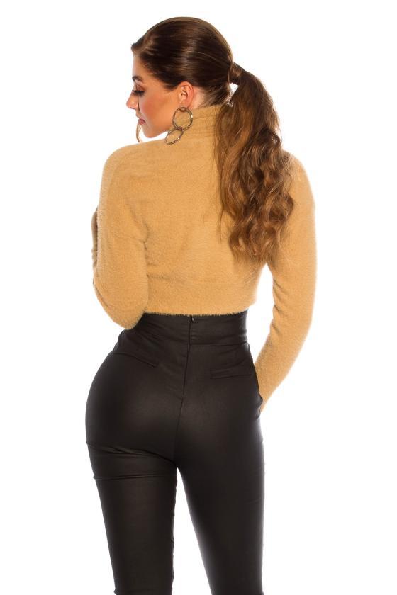 Juodos spalvos medvilninė suknelė LN119_152289