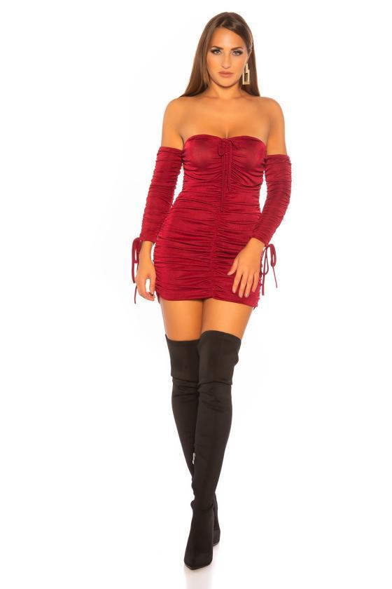 Smėlio spalvos suknelė 66047