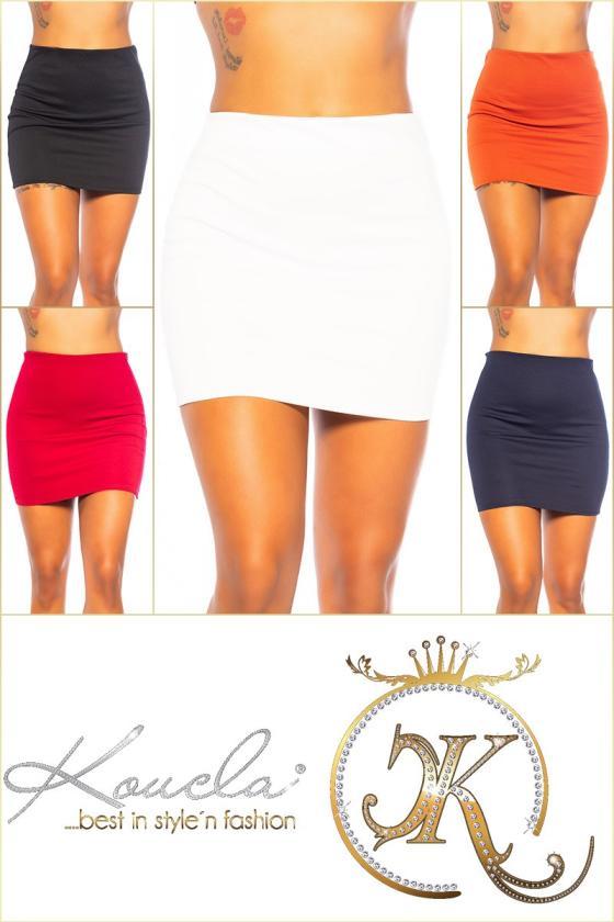 Tamsiai mėlynos spalvos trumpa suknelė su kauke_152893
