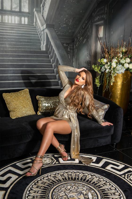 Raudonos spalvos kombinezonas_152965