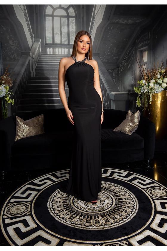 Geltonos spalvos latekso imitacijos termo kelnės_153353