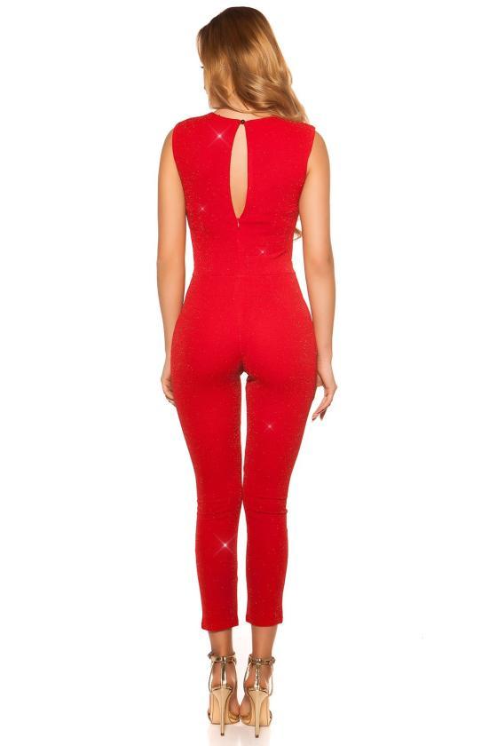 Geltonos spalvos latekso imitacijos sijonas