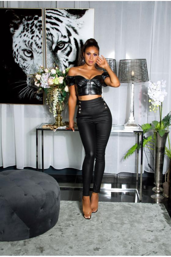 Juodos spalvos beretė LGK122