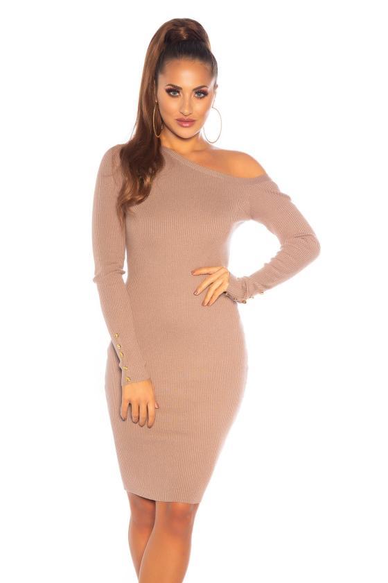 Elegantiška juoda suknelė L191