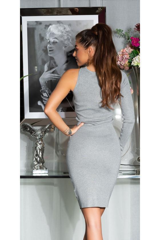 Elegantiška juoda suknelė L191_153951