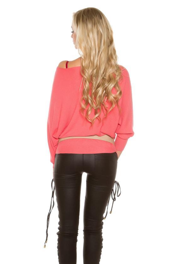 Elegantiška smėlio spalvos suknelė L191_153956