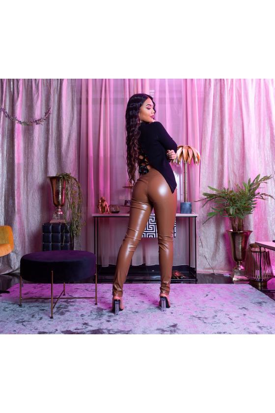 Elegantiška smėlio spalvos suknelė L219_153961