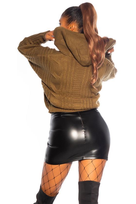 Elegantiška raudonos spalvos suknelė L219_153969