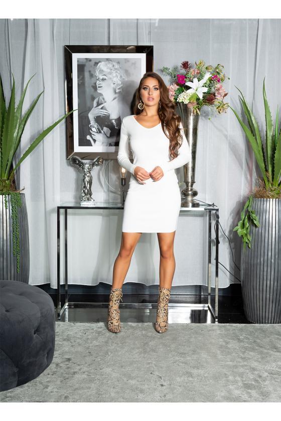 Elegantiška rožinės spalvos suknelė L219