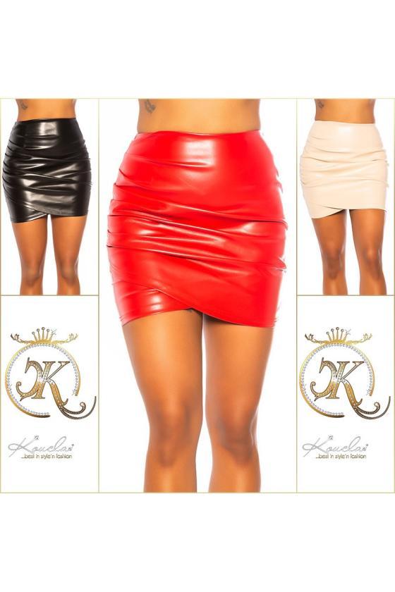 Elegantiška rožinės spalvos suknelė L219_153975