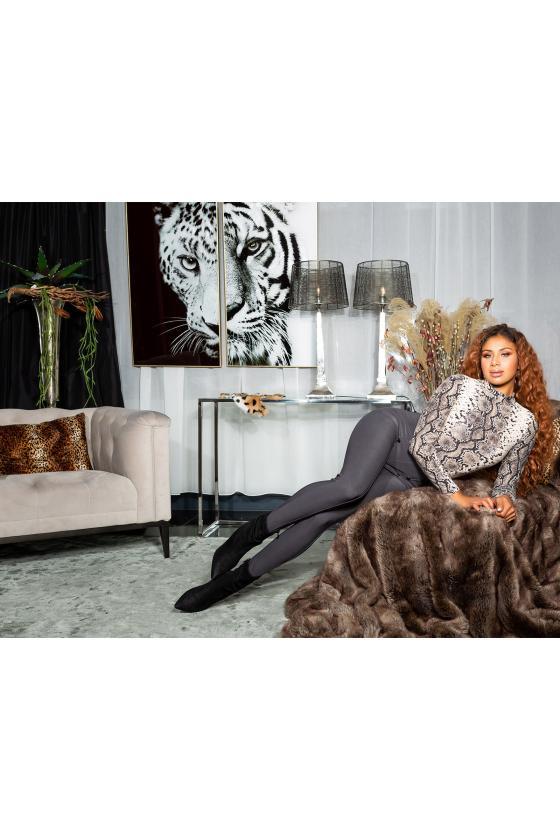 Bordinės spalvos ispaniško stiliaus suknelė L229_153986