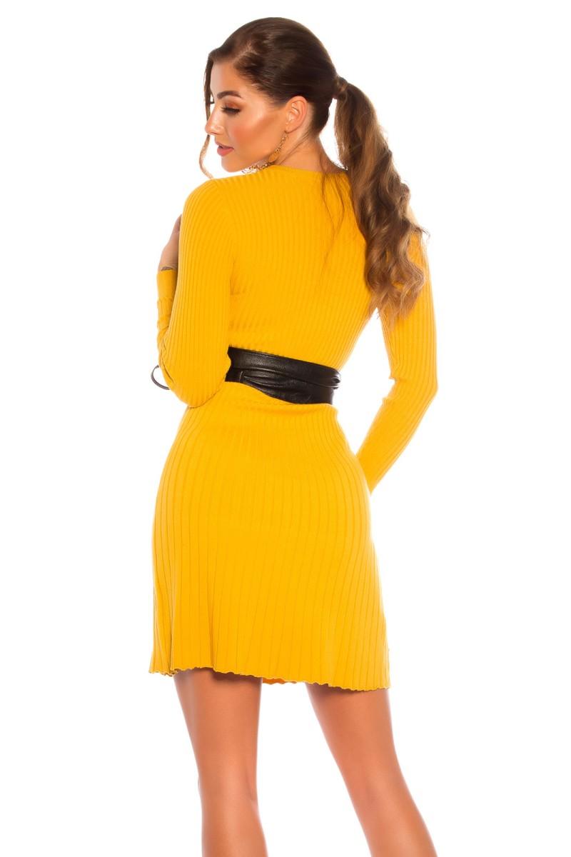 Juodos spalvos suknelė L241