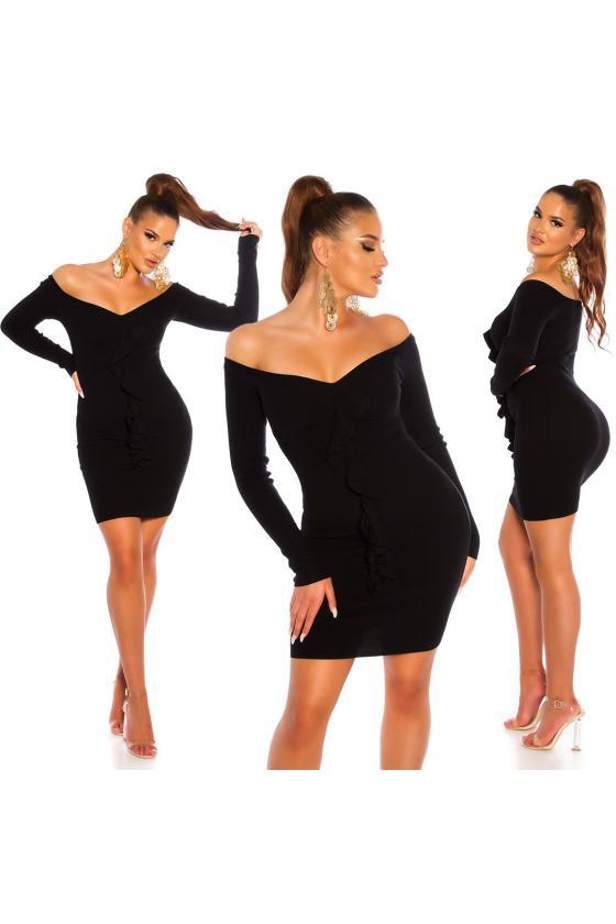 Smėlio spalvos suknelė L241_154023