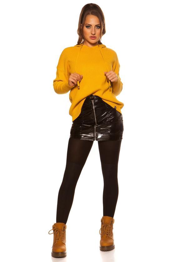 Rausvos spalvos suknelė L275_154048