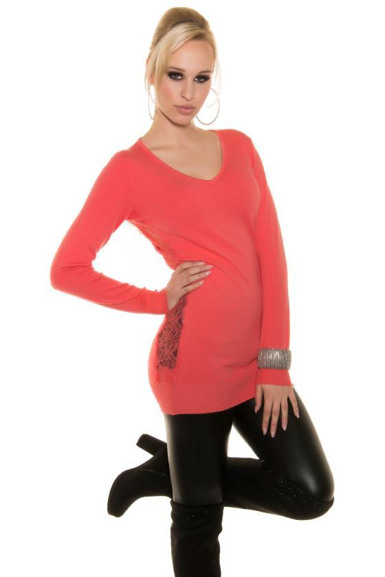 Violetinės spalvos suknelė L271_154072