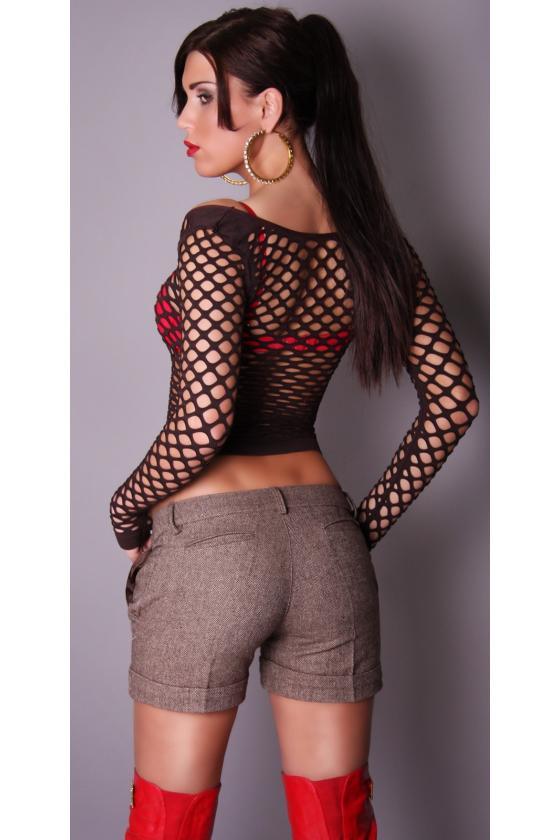 Violetinės spalvos suknelė L271_154073