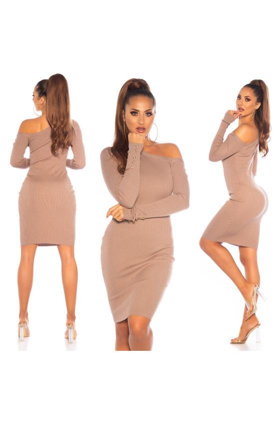Žalios spalvos suknelė L271_154078
