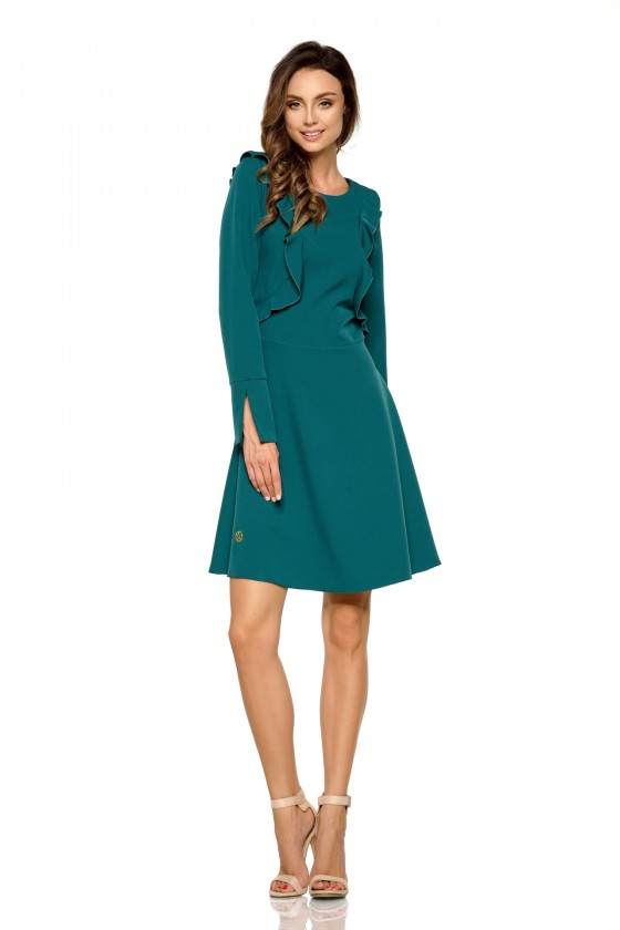 Žalios spalvos suknelė L271_154080