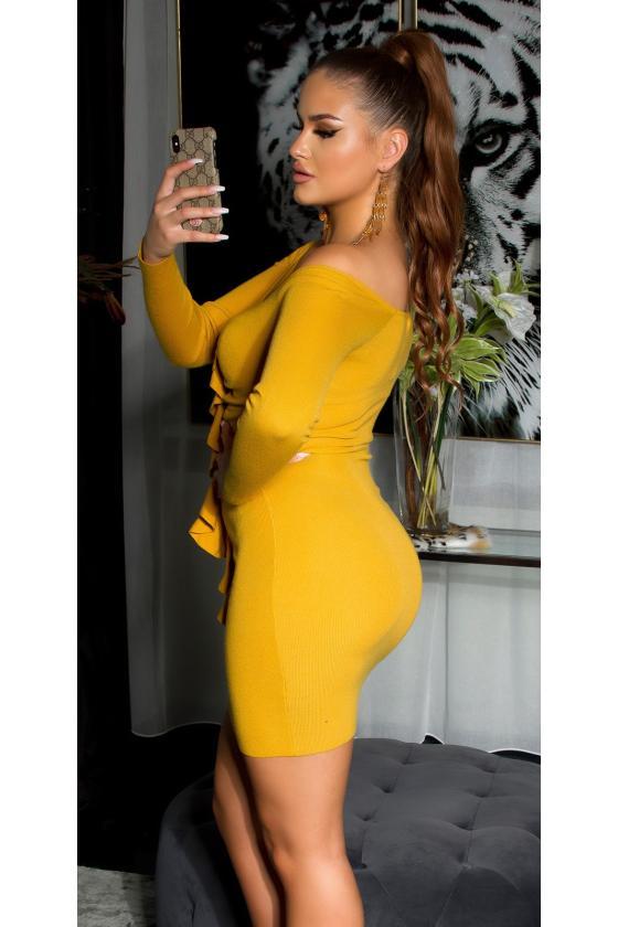 Leopardo rašto ilga suknelė_154099