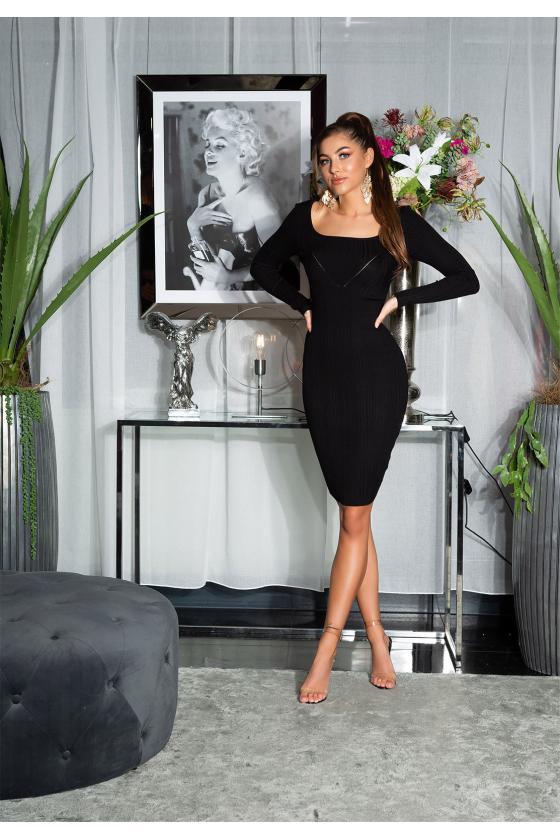 Žydra ilga suknelė L314_154107