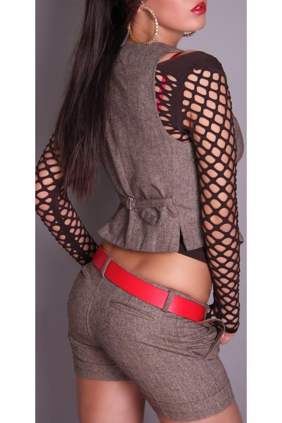Žydra ilga suknelė L314