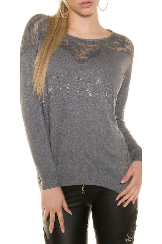 Bordinės spalvos ilga suknelė L314_154122