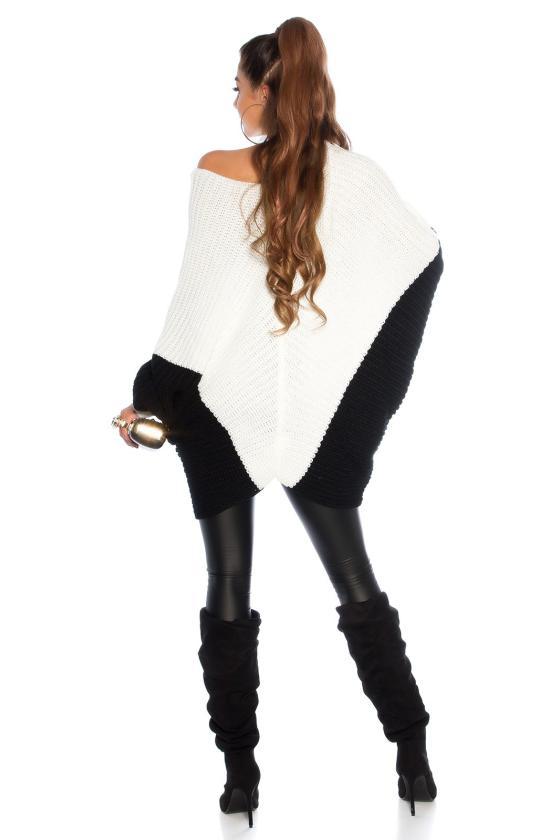 Bordinės spalvos ilga suknelė L314_154123