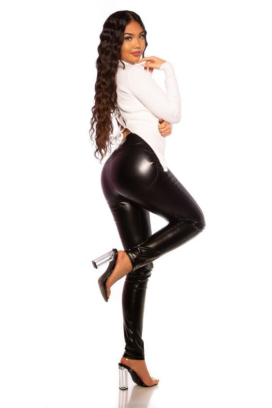 Bordinės spalvos suknelė LG505_154142