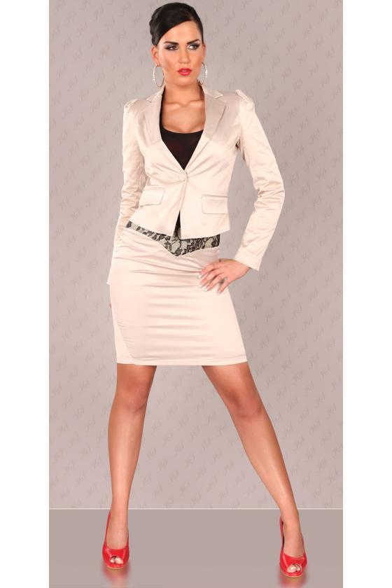 Bordinė trumpa suknelė L311_154217