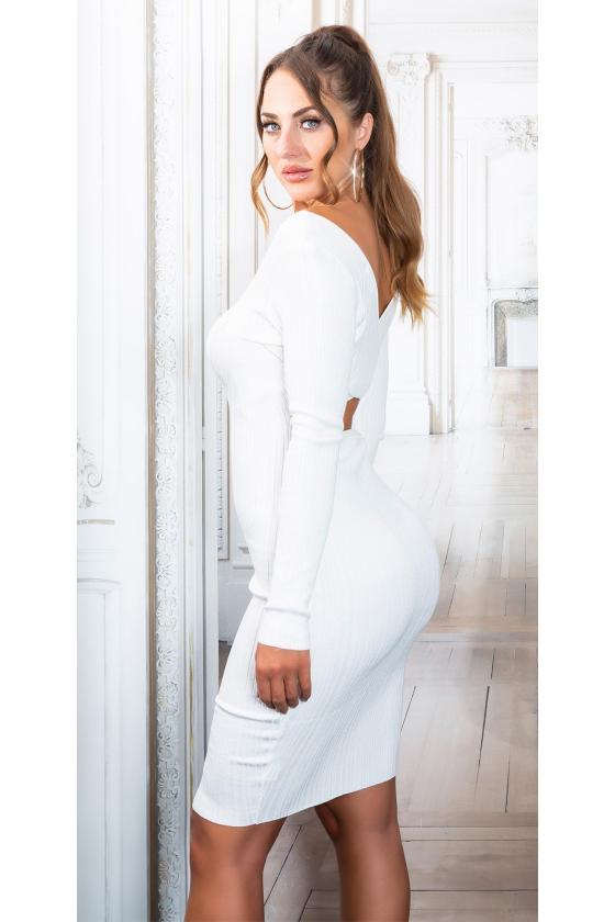 Elegantiška juoda suknelė su sagomis_154244