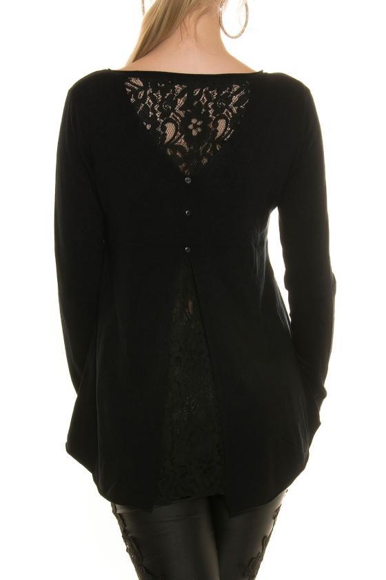 Tamsiai mėlynos spalvos laisvalaikio velvetinės kelnės_155043