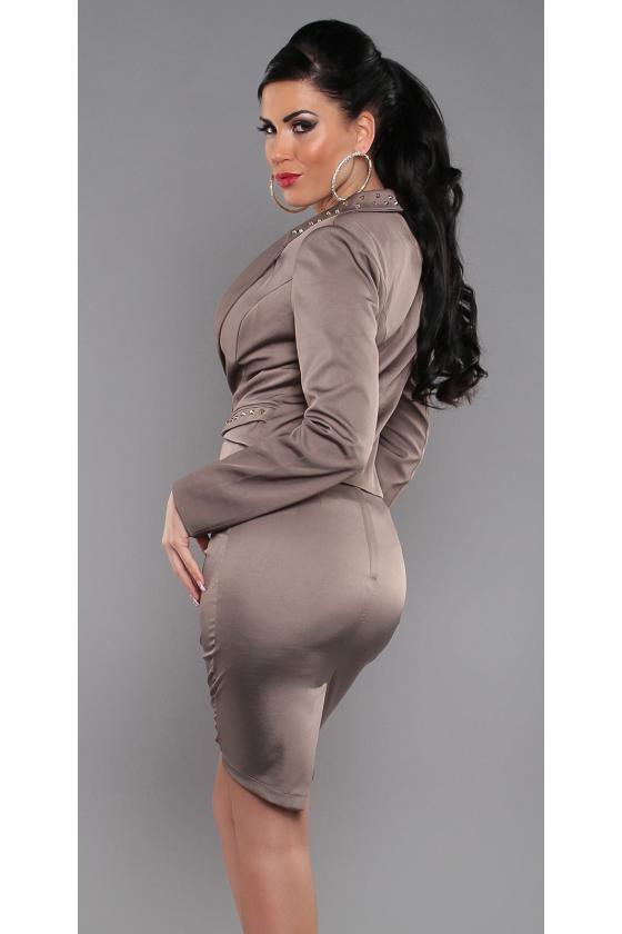 Juodos spalvos laisvalaikio velvetinės kelnės_155053