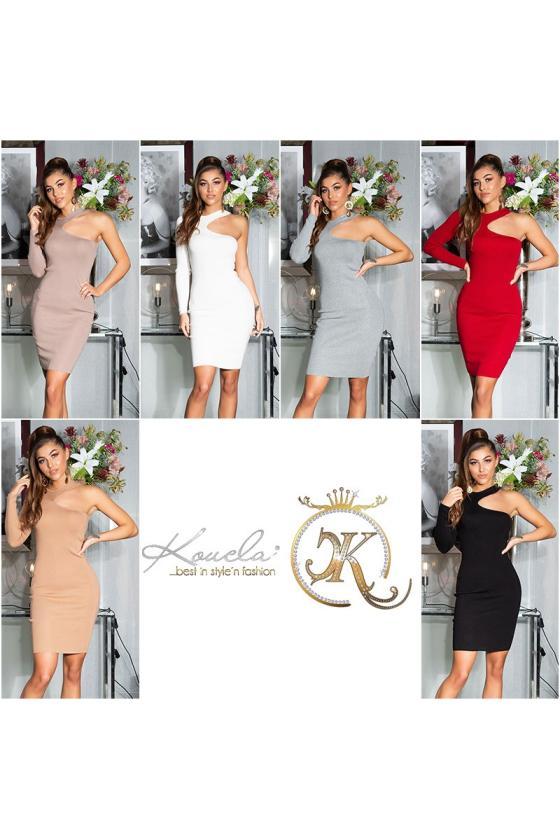 """Baltos spalvos gipiūrinė suknelė """"Naomi""""_155174"""