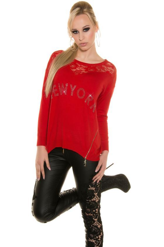 Raudonos spalvos suknelė SARA