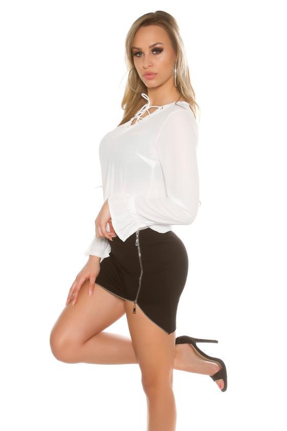 Bordinės spalvos suknelė SARA_155324