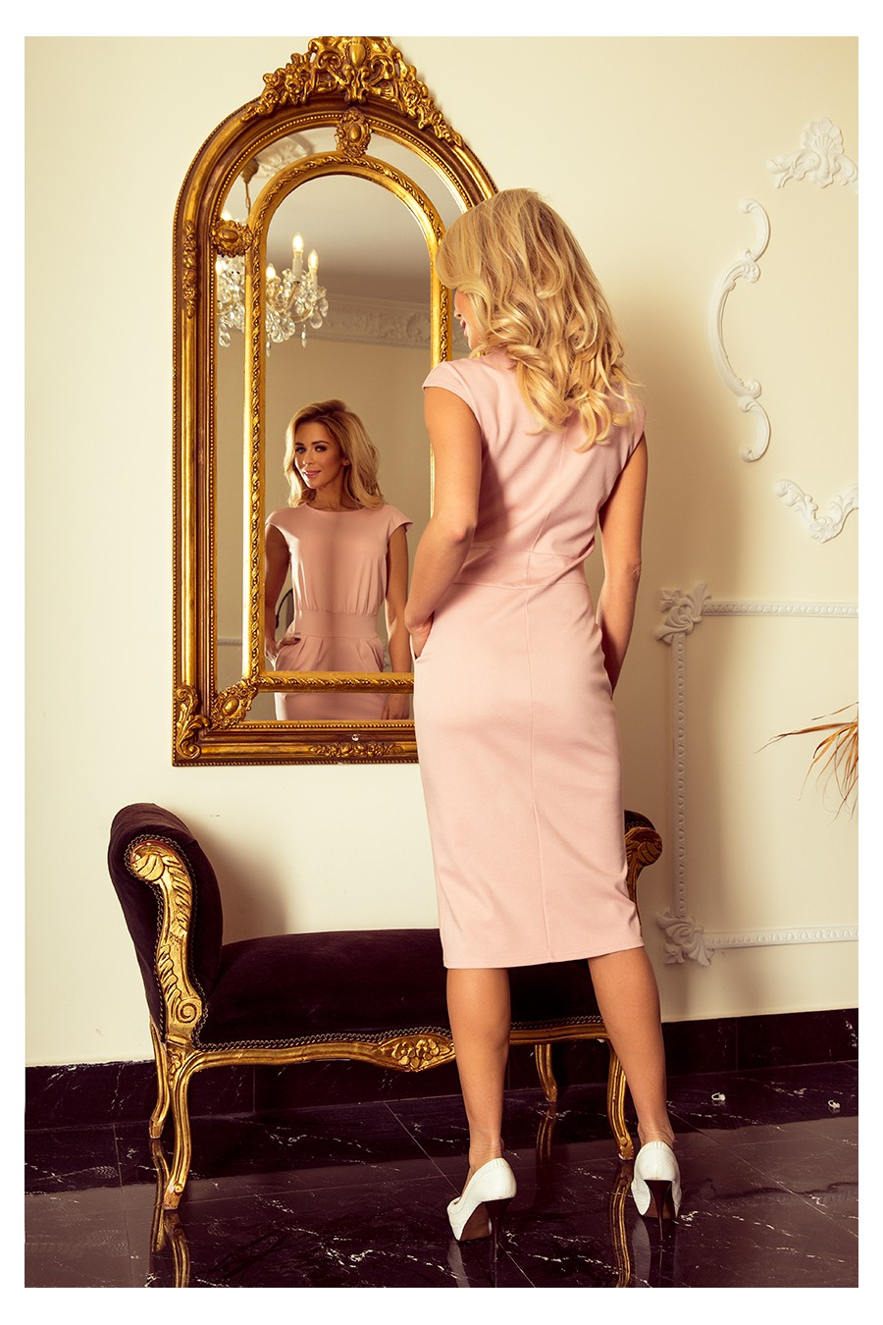 Rausvos spalvos suknelė SARA_155340