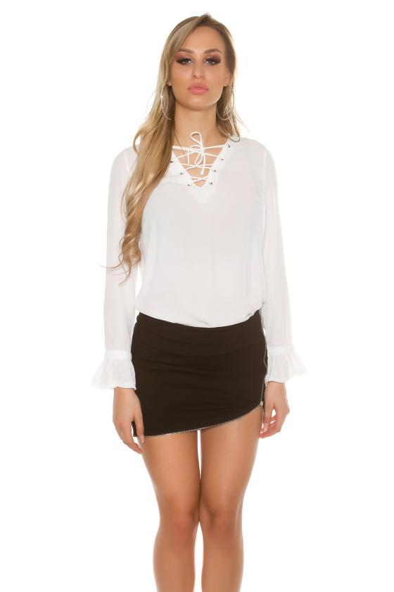 Rausvos spalvos suknelė SARA_155341