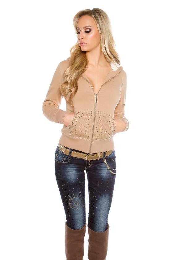 Žalios spalvos suknelė SARA_155350