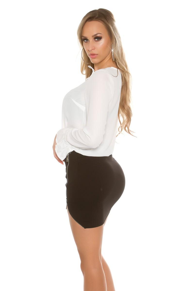 Chaki spalvos suknelė SARA_155361
