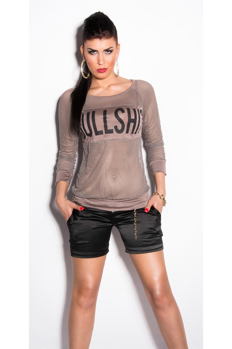 Juodos spalvos gipiūrinė suknelė MM 021-1