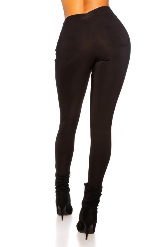 Juodos spalvos gipiūrinė suknelė MM 021-1_155399