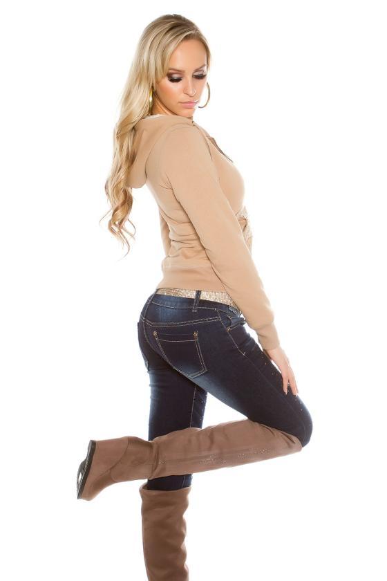 Ekskliuzyvinė tamsiai mėlynos spalvos suknelė_155416