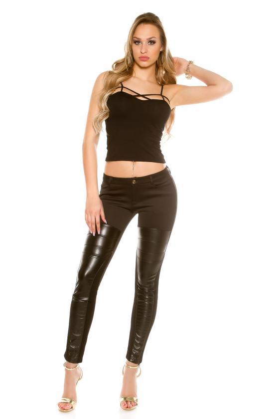 Bordinė suknelė dekoruota nėriniais_155432