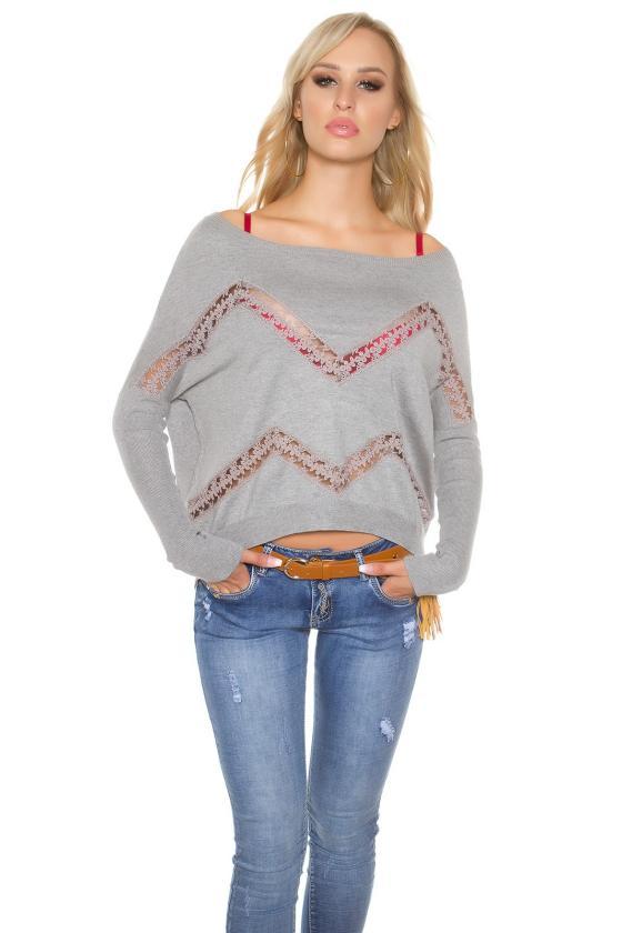 Bordinė suknelė dekoruota nėriniais_155434
