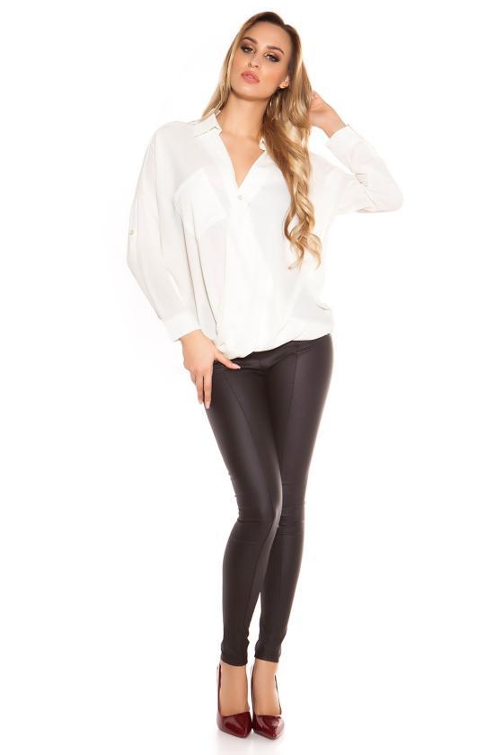 Mėlynos spalvos laisvalaikio suknelė su gobtuvu_155571