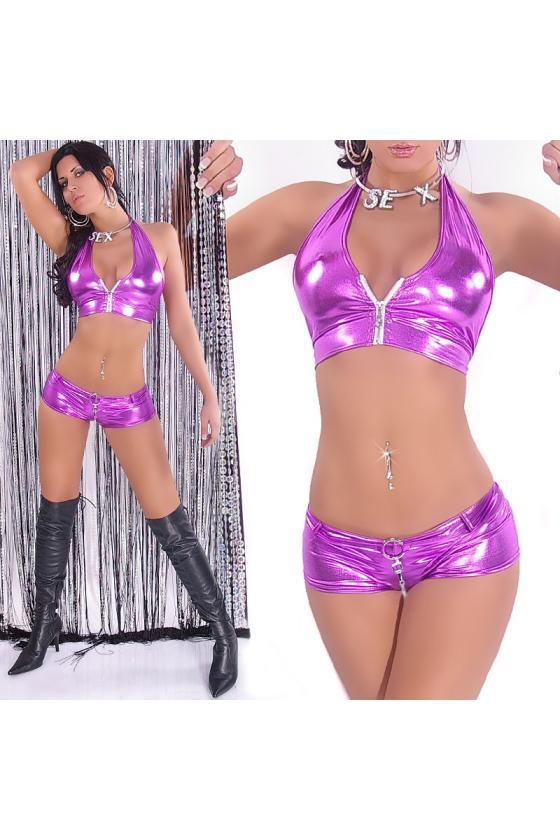 Raudonos spalvos laisvalaikio suknelė su gobtuvu_155577