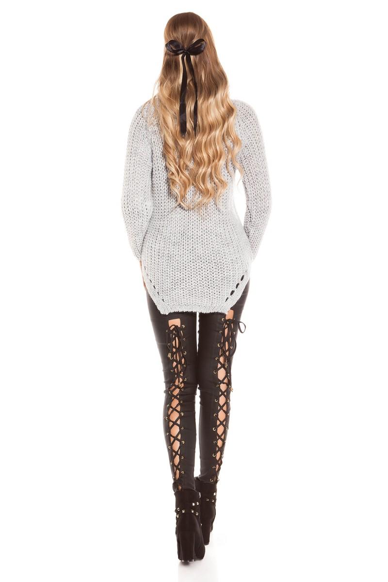 Žalios spalvos laisvalaikio suknelė su gobtuvu_155596