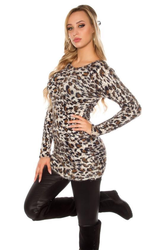 Pilkos spalvos suknelė PU3994S_155743